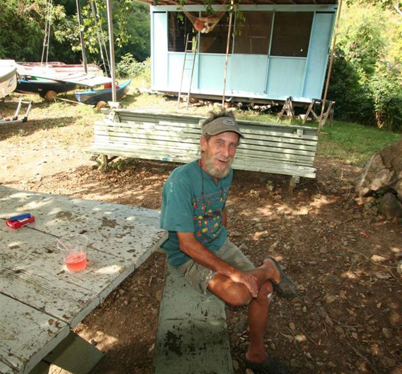 This is Will. After Hurricane Hugo, he inspired us by rebuilding his lumber pile